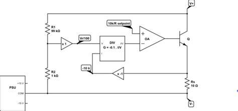 voltage controlled variable resistor circuit high voltage voltage controlled linear variable resistor electrical engineering stack exchange