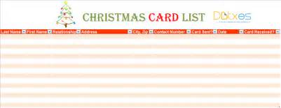 top 5 free card list templates word templates excel templates