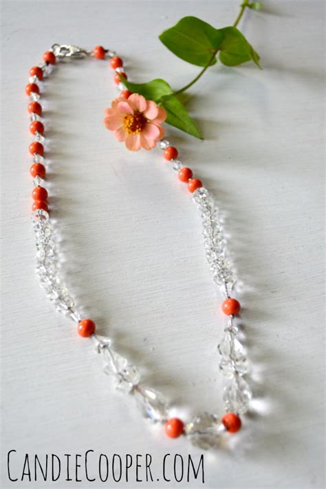 how to knot a strand of pearls or candie cooper