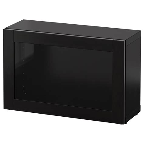besta shelf unit with glass doors best 197 shelf unit with glass door sindvik black brown 60x20x38 cm ikea