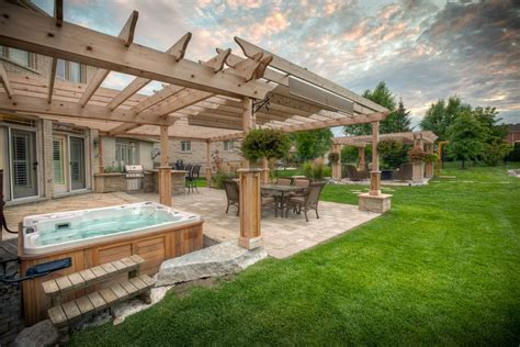 Outdoor Backyard Deck Designs With Hot Tub Ideas Deck Backyard Deck Design Ideas