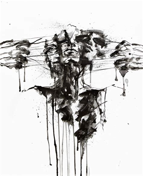 2 dark inspiration ii drawing restraint ii by agnes cecile on