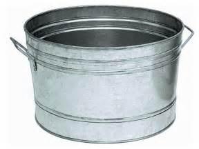 galvanized steel planter tub traditional utility