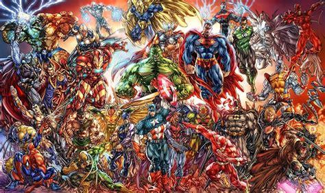 marvel vs dc costume clash infographic 1000 215 596 mixed
