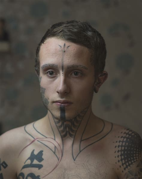 facial tattoos leaver s photography project the
