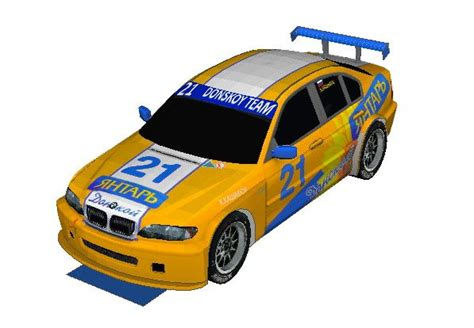 Bmw Papercraft - papercraftsquare new paper craft wtcc donskoy team