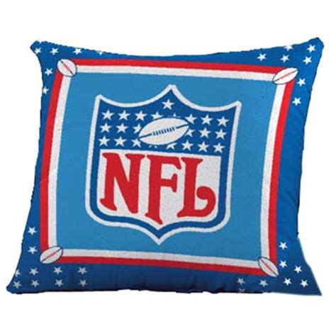 Nfl Pillows by Nfl Square Pillow
