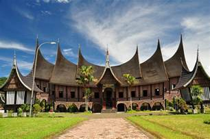 rumah gadang a traditional architecture in padang west su widiyanto wibowo flickr