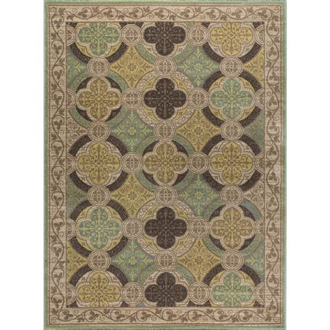 Transitional Area Rug Tayse Rugs Beige 7 Ft 10 In X 10 Ft 3 In Transitional Area Rug Cpr1006 8x10 The Home