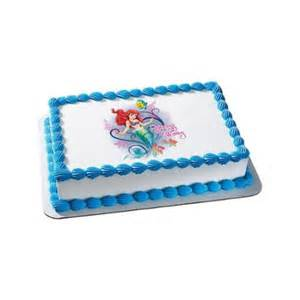 mermaid quarter sheet edible cake topper each