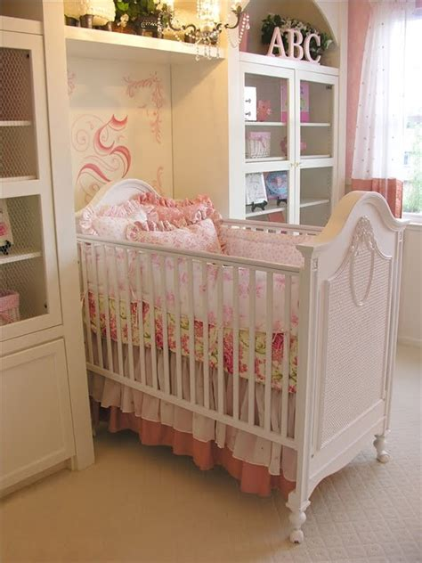 diary lifestyles shabby chic girly baby nurseries