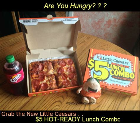 Does Little Caesars Have Gift Cards - little caesars 5 hot n ready lunch combo little caesars 25 gift card bean doll