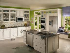 pics photos green kitchen design ideas and decorations