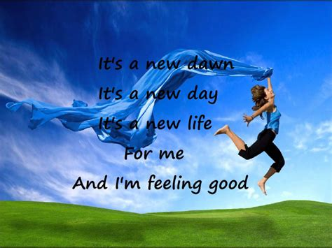 feeling good feeling good michael buble w lyrics youtube