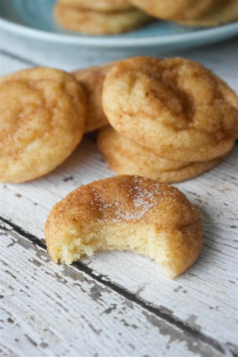 easy snickerdoodle cookies soft and thick snickerdoodle cookies baking is a science