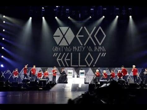 exo v live indo sub exo live concert in japan youtube