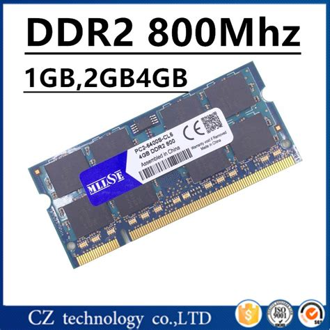 Sale Vgen Sodimm Ddr2 2gb Pc 6400 aliexpress buy mllse 1gb 2gb 4gb ddr2 800 pc2 6400 so dimm laptop ddr2 800 2gb pc2 6400