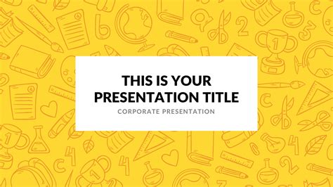 Elementary Free Google Slides Keynote Theme And Powerpoint Template Free Keynote Templates For Teachers