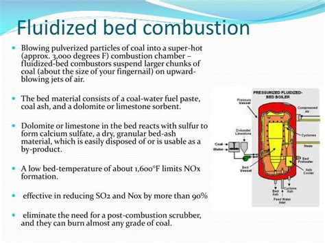 Fluidized Bed Combustion by Ppt Energy Ii Powerpoint Presentation Id 6666067