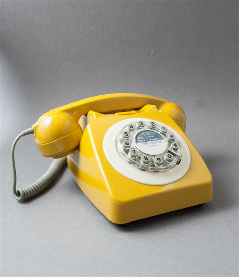 house phone yellow icon 60 telephone retro house phone