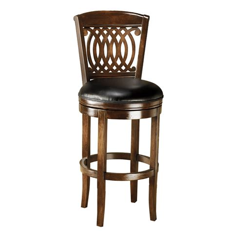 shop hillsdale furniture 31 in bar stool at lowes
