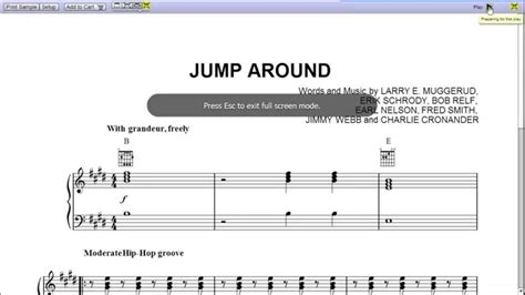 house of pain jump around music video jump around by house of pain piano sheet music teaser youtube