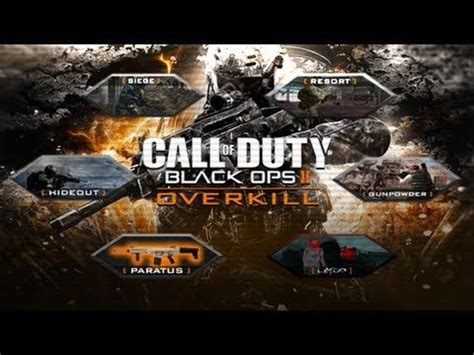 black ops map packs black ops 2 dlc map pack idea quot overkill quot