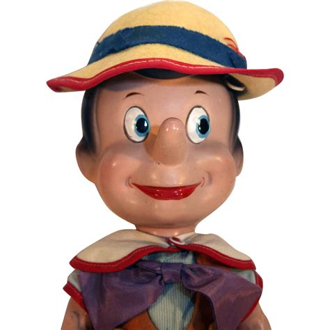 composition pinocchio doll knickerbocker pinocchio composition character from disney