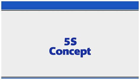 5s Concept By Hiroyuki Hirano Power Point Presentation 5s Concept Ppt