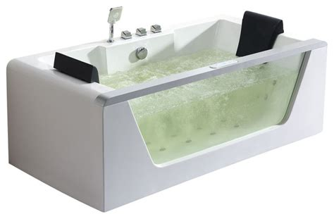 whirlpool bathtub heater eago clear rectangular whirlpool bathtub with inline
