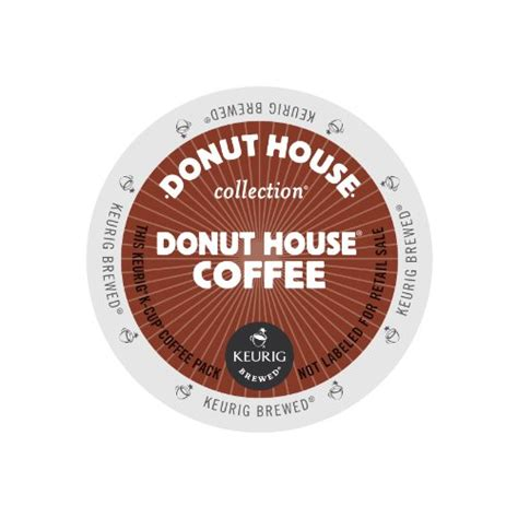 Donut House Collection Coffee Keurig K Cups 72 Count