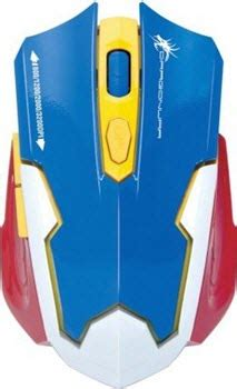 Dragonwar Ele G10 Ares Blue Sensor Gaming Mouse Black best gaming mouse 1000 rupees budget in india
