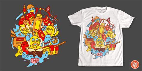 Tshirt Kaos Level 6 membuat mockup t shirt new design whizisme design