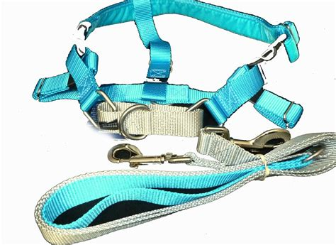 freedom harness freedom velvet lined no pull designer harness and leash multi colors 3 sizes nwt ebay