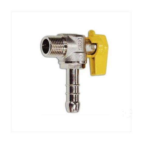 rubinetti gas cucina rubinetto gas porta gomma m 1 2 gpl