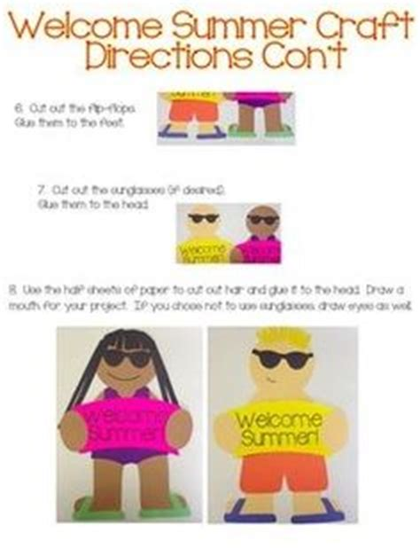 end of summer crafts for 1000 images about summer crafts summer activities end of