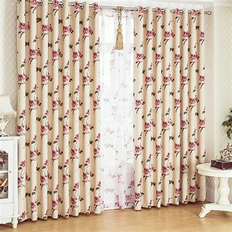 country bedroom curtains blackout bedroom brief customized korean fashion country