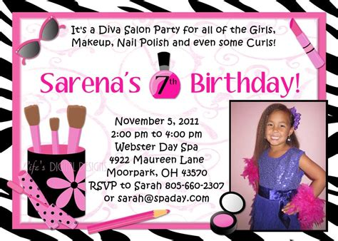 free templates for spa invitations making spa party invitations home party ideas