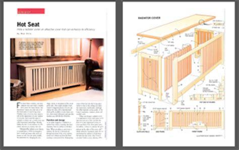 plans wood radiator cover plans  cedar projects aboriginallyf