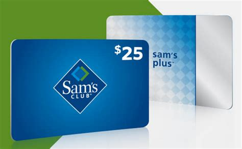 Sam S Club Gift Card Without Membership - 25 gift card and freebies when you purchase a sam s club membership common sense