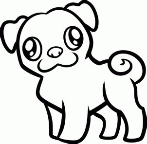 pug pictures to draw how to draw how to draw a pug for hellokids