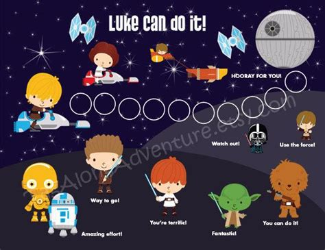 printable star wars growth chart 17 best images about star wars learning on pinterest