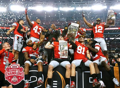 Mba Football State Chionship by The Ohio State Buckeyes Your National Chions That S