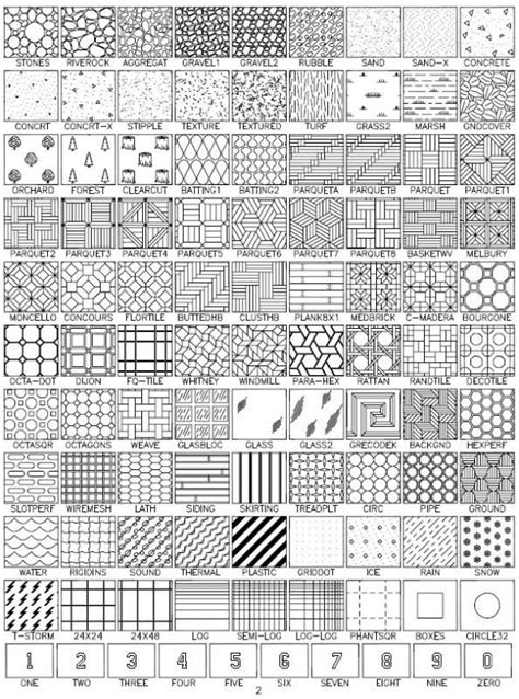 hatch pattern library free download cad natural stone hatch patterns architecture