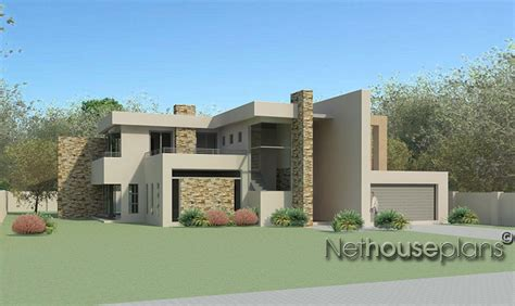 Southern Style House Plans by 4 Bedroom Modern Style House Plan M474d Nethouseplansnethouseplans