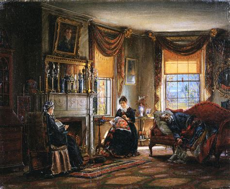 the sitting room 19th century american paintings edward lamson henry ctd