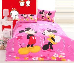 pink mickey mouse and minnie mouse bedding disney bedding