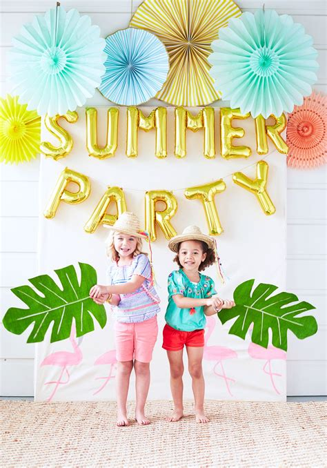 summer parties party time fire and cr 232 me for pottery barn kids rue