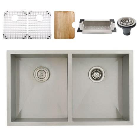 ticor stainless steel sinks ticor s3550 undermount 16 stainless steel kitchen