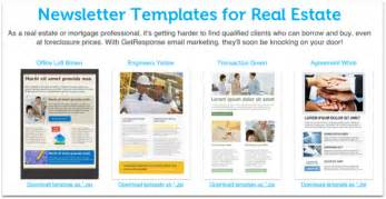 real estate newsletters templates 12 best real estate newsletter template resources